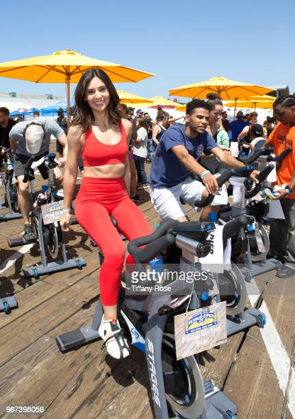Camila Banus attends the 8th Annual Pedal On The Pier Fundraiser at Santa Monica Pier on June 3 2018 in Santa Monica California