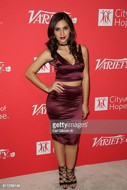 Camila Banus attends Variety's 10 Latinos to watch at The London West Hollywood on September 28 2016 in West Hollywood California