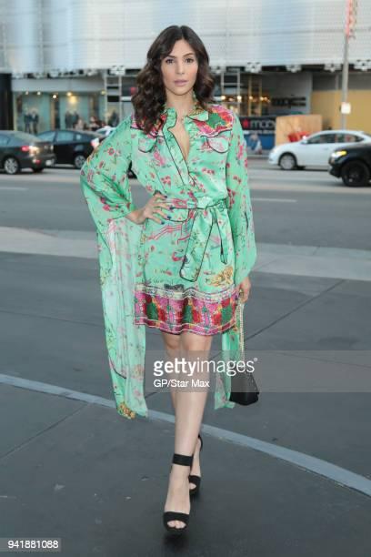 Camila Banus is seen on April 3 2018 in Los Angeles CA