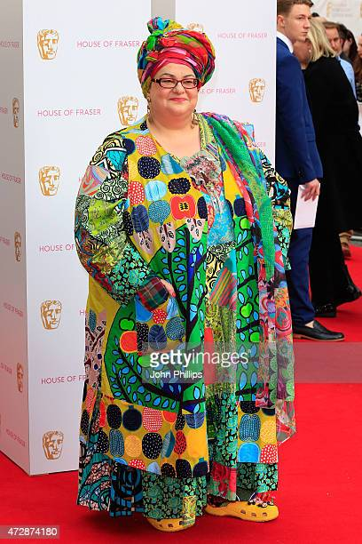 Camila Batmanghelidjh attends the House of Fraser British Academy Television Awards at Theatre Royal on May 10 2015 in London England