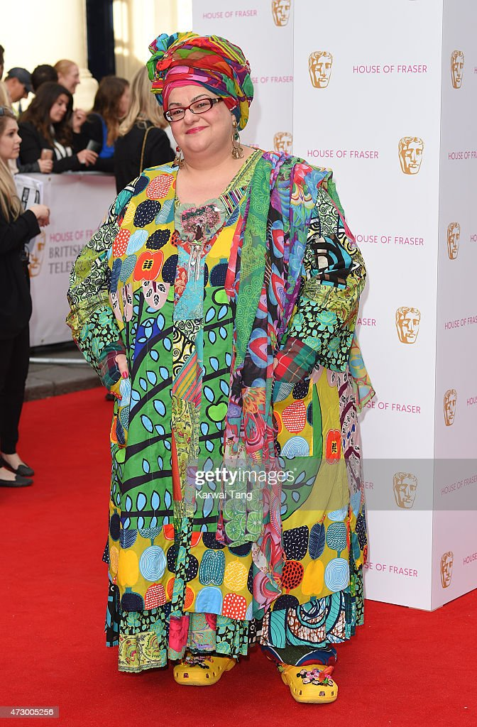 Camila Batmanghelidjh attends the House of Fraser British Academy Television Awards at Theatre Royal on May 10, 2015 in London, England.
