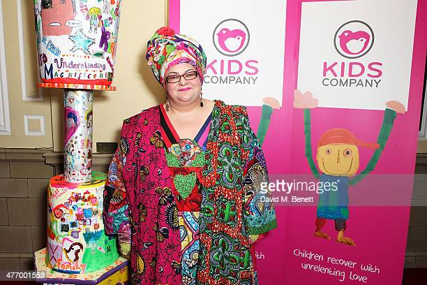 Camila Batmanghelidjh attends the 'Kids Company Heart Of Gold' fundraising dinner at the Porchester Hall on March 6 2014 in London England