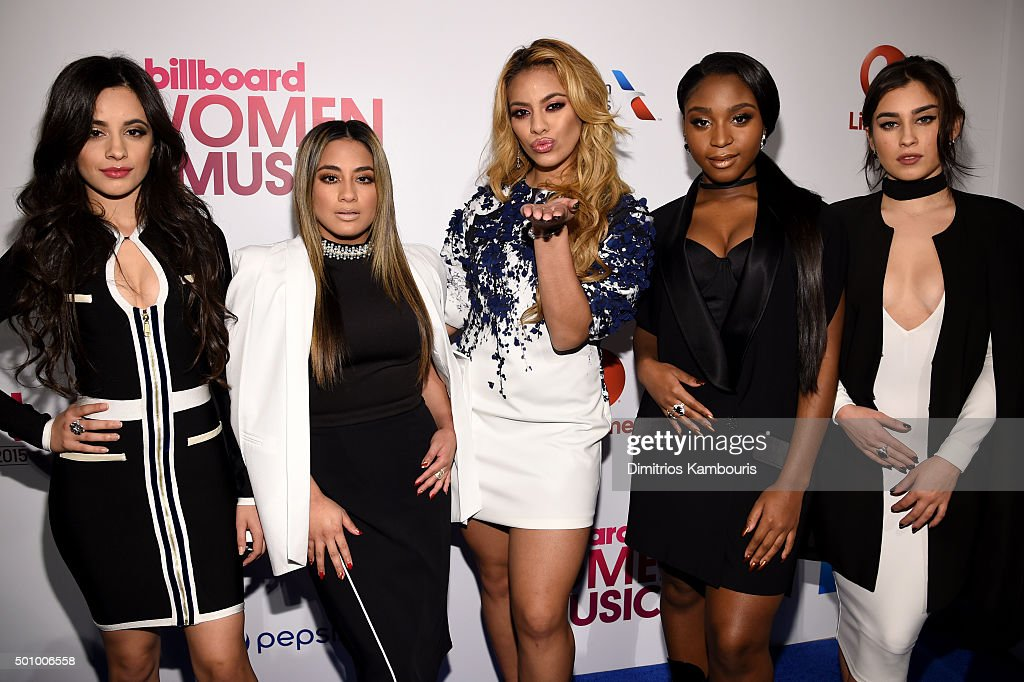 Camila Cabello, Ally Brooke Hernandez, Dinah Jane, Normani Kordei, and Lauren Jauregui attend Billboard's 10th Annual Women In Music at Cipriani 42nd Street on December 11, 2015 in New York City.