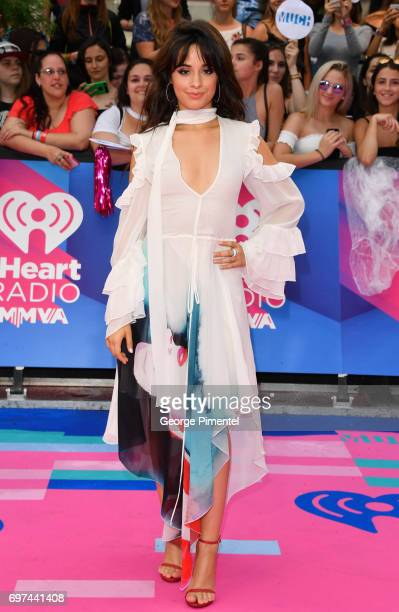 Camila Cabello arrives at the 2017 iHeartRADIO MuchMusic Video Awards at MuchMusic HQ on June 18 2017 in Toronto Canada