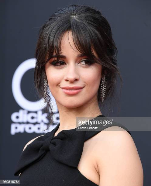 Camila Cabello arrives at the 2018 Billboard Music Awards at MGM Grand Garden Arena on May 20 2018 in Las Vegas Nevada