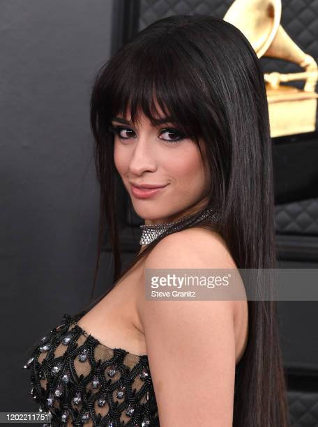 Camila Cabello arrives at the 62nd Annual GRAMMY Awards at Staples Center on January 26 2020 in Los Angeles California