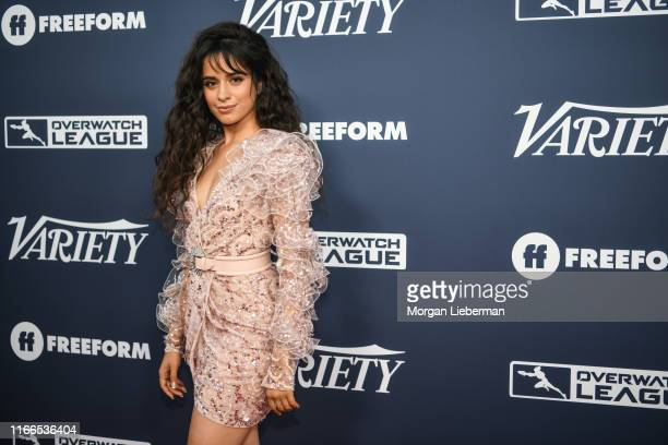 Camila Cabello arrives at Variety's Power Of Young Hollywood party at The H Club Los Angeles on August 06 2019 in Los Angeles California