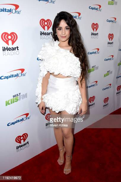Camila Cabello attends 1027 KIIS FM's Jingle Ball 2019 Presented by Capital One at the Forum on December 6 2019 in Los Angeles California