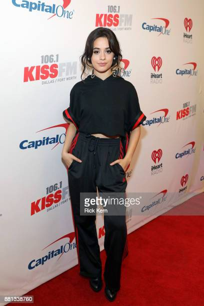 Camila Cabello attends 1061 KISS FM's Jingle Ball 2017 Presented by Capital One at American Airlines Center on November 28 2017 in Dallas Texas