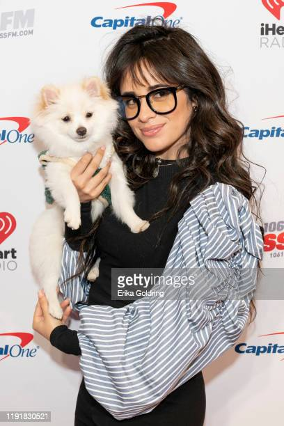 Camila Cabello attends 1061 KISS FM's Jingle Ball 2019 at Dickies Arena on December 03 2019 in Fort Worth Texas