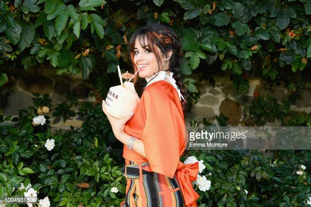 Camila Cabello attends Camila Cabello and L'Oreal Paris Celebrate the launch of the HAVANA makeup collection in Pacific Palisades California on July...