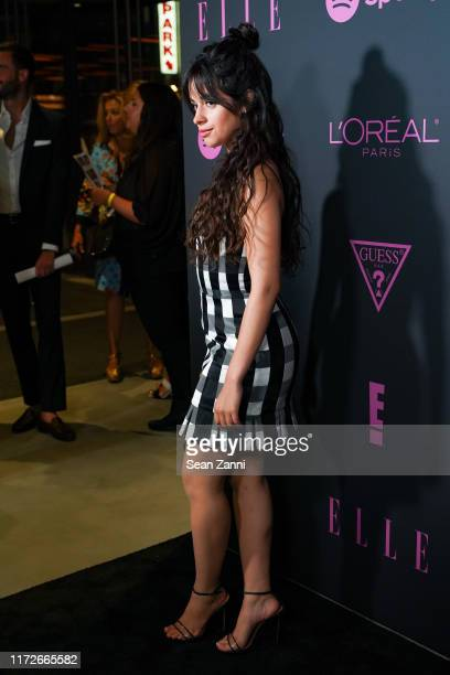 Camila Cabello attends Nina Garcia Jameela Jamil E Entertainment Host ELLE Women In Music Presented by Spotify at The Shed on September 05 2019 in...