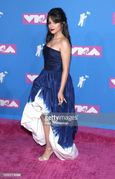 Cheyenne Enriquez Chandlar Walby Alyssa Abrenica Nicole Pleskow and Nikki Hussey of Pretty Little Mamas attend the 2018 MTV Video Music Awards at...