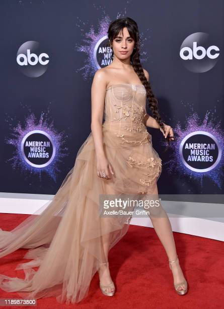 Camila Cabello attends the 2019 American Music Awards at Microsoft Theater on November 24 2019 in Los Angeles California