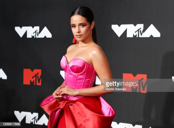 Camila Cabello attends the 2021 MTV Video Music Awards at Barclays Center on September 12, 2021 in the Brooklyn borough of New York City.