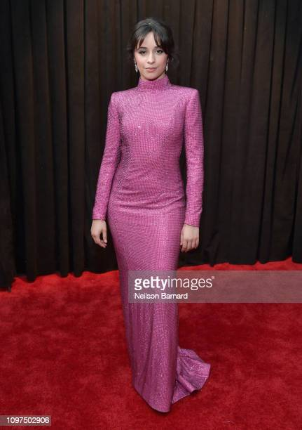 Camila Cabello attends the 61st Annual GRAMMY Awards at Staples Center on February 10 2019 in Los Angeles California