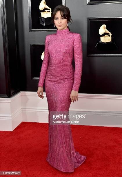 Camila Cabello attends the 61st Annual GRAMMY Awards at Staples Center on February 10, 2019 in Los Angeles, California.