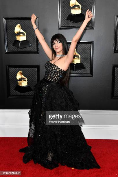 Camila Cabello attends the 62nd Annual GRAMMY Awards at STAPLES Center on January 26 2020 in Los Angeles California