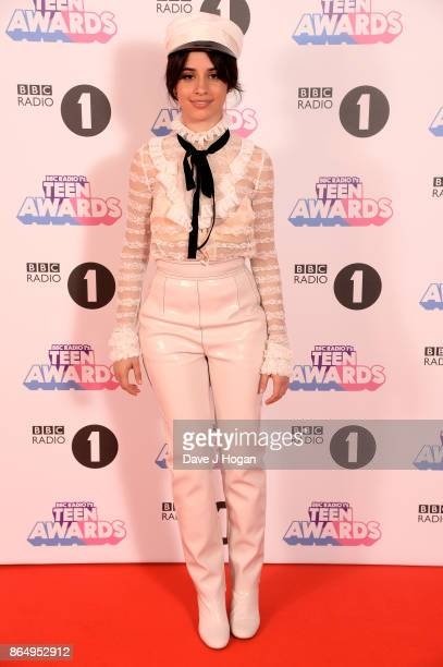 Camila Cabello attends the BBC Radio 1 Teen Awards 2017 at Wembley Arena on October 22 2017 in London England
