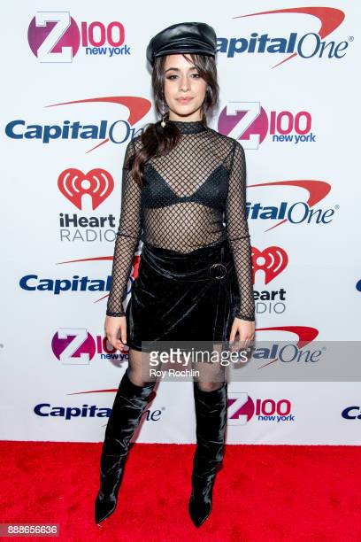 Camila Cabello attends Z100's iHeartRadio Jingle Ball 2017 at Madison Square Garden on December 8 2017 in New York City