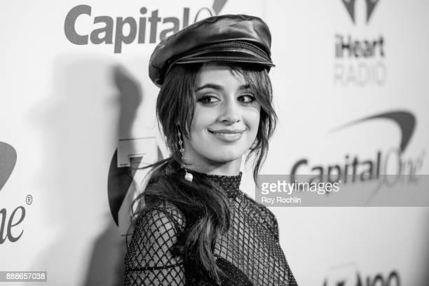 Camila Cabello attends Z100's iHeartRadio Jingle Ball 2017 at Madison Square Garden on December 8 2017 in New York City