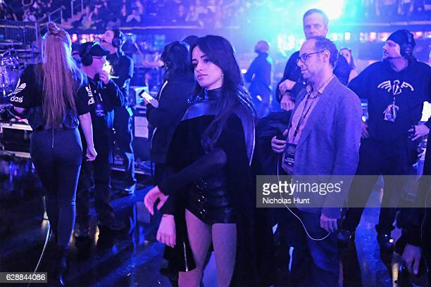 Camila Cabello attends Z100's Jingle Ball 2016 at Madison Square Garden on December 9 2016 in New York City