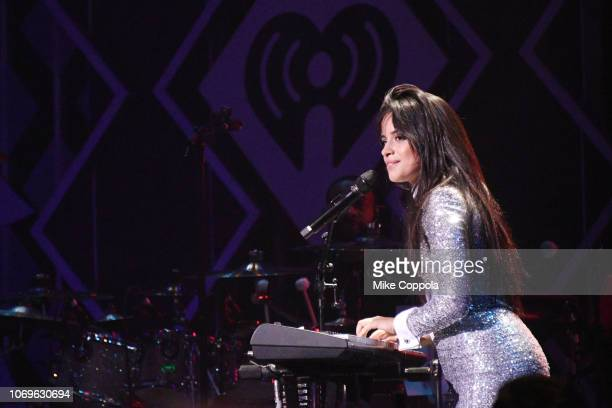 Camila Cabello attends Z100's Jingle Ball 2018 at Madison Square Garden on December 7 2018 in New York City