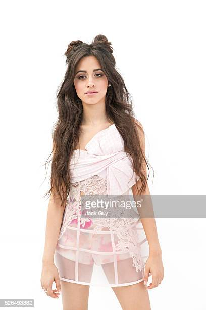 Camila Cabello from pop group 5th Harmony is photographed for Forbes Magazine on September 1 2015 in Hollywood California PUBLISHED IMAGE