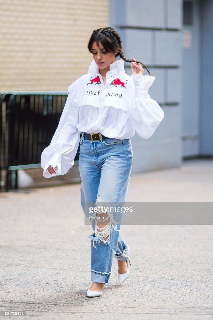 Celebrity Sightings in New York City - September 27, 2017 : Nieuwsfoto's