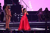 bilbao spain camila cabello stage during