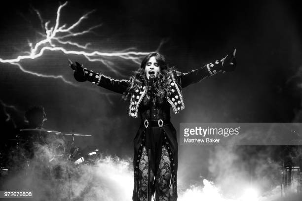 Camila Cabello performs at Brixton Academy on June 12 2018 in London England