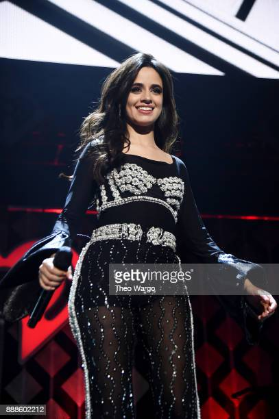 Camila Cabello performs at Z100's Jingle Ball 2017 on December 8 2017 in New York City