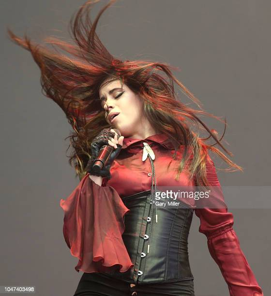Camila Cabello performs in concert during the ACL Music Festival at Zilker Park on October 7, 2018 in Austin, Texas.