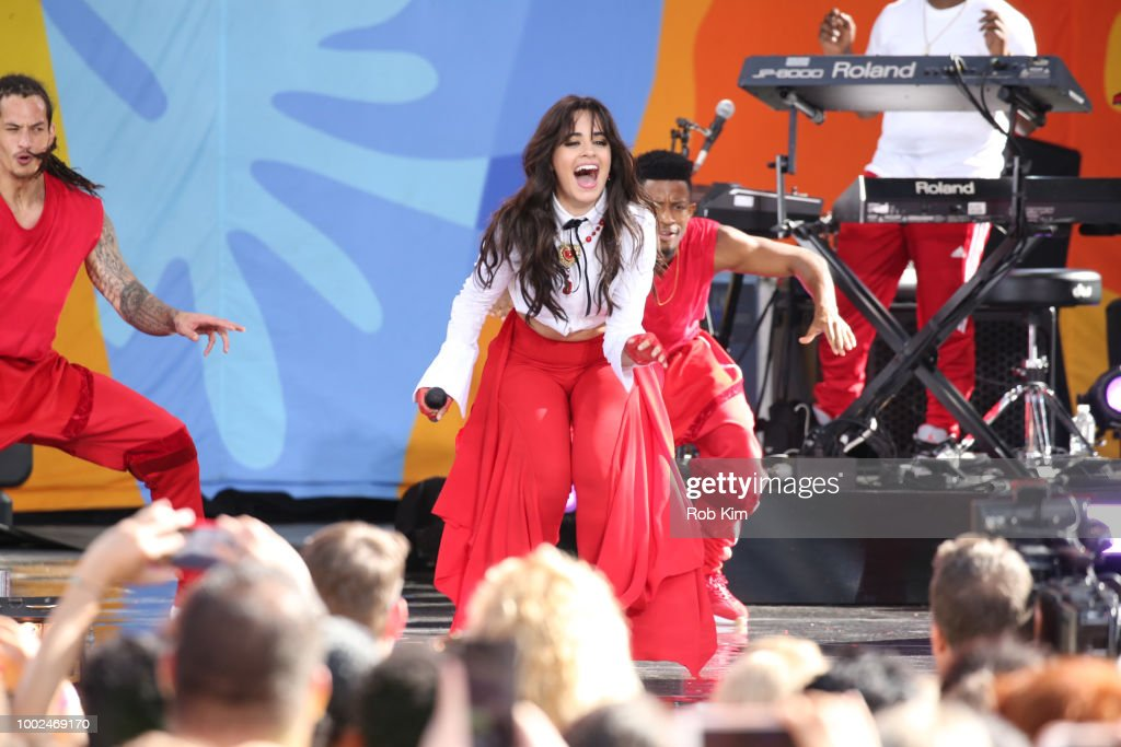 "Camila Cabello Performs On ABC's ""Good Morning America"""