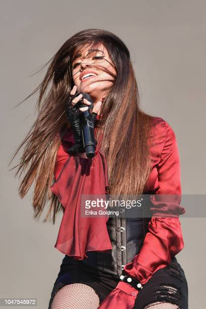 Camila Cabello performs on day 3 of Austin City Limits Festival at Zilker Park on October 7 2018 in Austin Texas