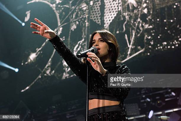 Camila Cabello performs on stage during Power 961's Jingle Ball 2016 at Phillips Arena on December 16 2016 in Atlanta Georgia