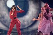 london england camila cabello performs stage
