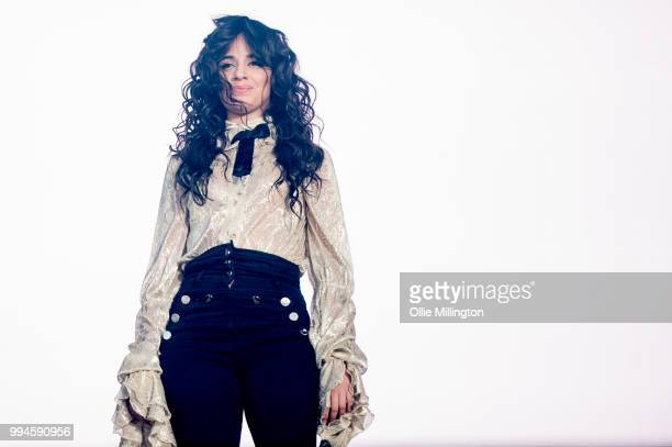 Camila Cabello performs onstage at the mainstage at The Plains of Abraham in The Battlefields Park during day 4 of the 51st Festival d'ete de Quebec...
