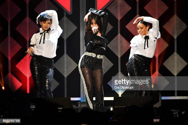 Camila Cabello performs onstage at the Z100's Jingle Ball 2017 on December 8 2017 in New York City