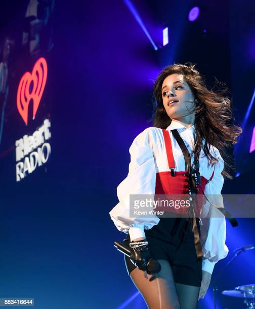 Camila Cabello performs onstage at WiLD 949's FM's Jingle Ball 2017 Presented by Capital One at SAP Center on November 30 2017 in San Jose California