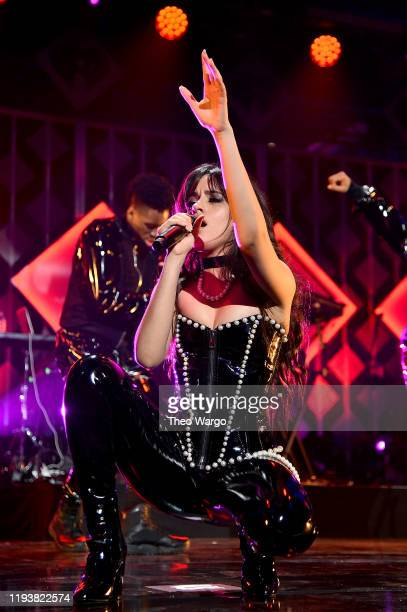 Camila Cabello performs onstage during iHeartRadio's Z100 Jingle Ball 2019 Presented By Capital One on December 13 2019 in New York City