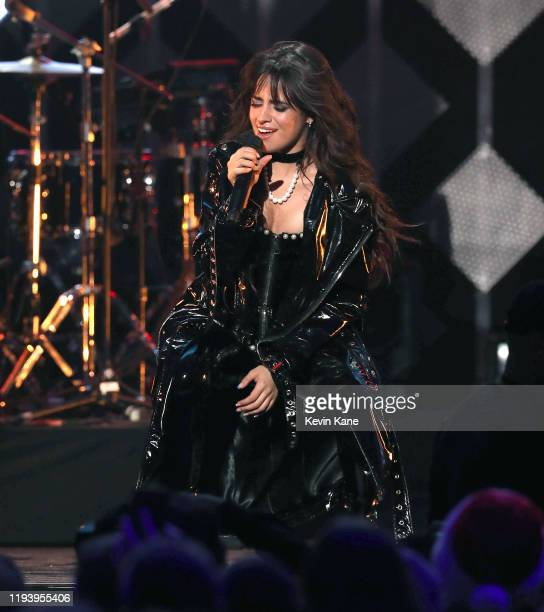 Camila Cabello performs onstage during iHeartRadio's Z100 Jingle Ball 2019 at Madison Square Garden on December 13, 2019 in New York City.