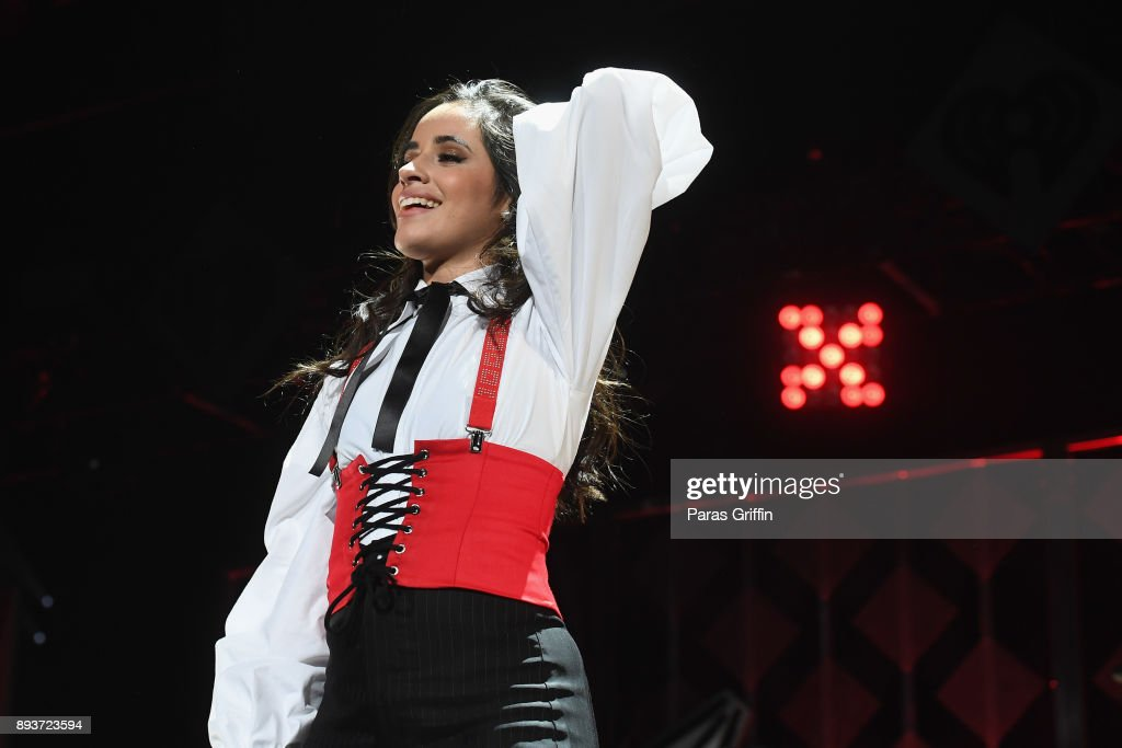 Camila Cabello performs onstage during Power 96.1's Jingle Ball 2017 Presented by Capital One at Philips Arena on December 15, 2017 in Atlanta, Georgia.