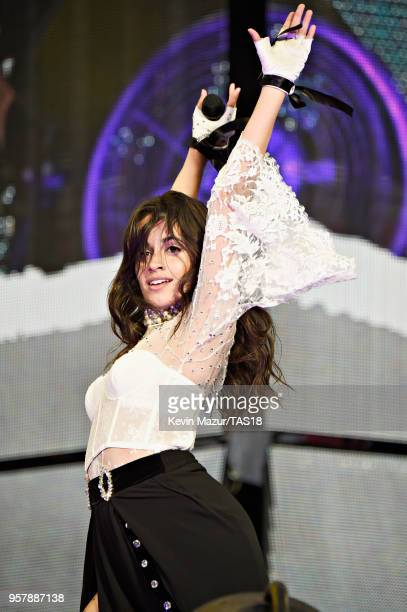 Camila Cabello performs onstage during Taylor Swift reputation Stadium Tour at Levi's Stadium on May 12 2018 in Santa Clara California