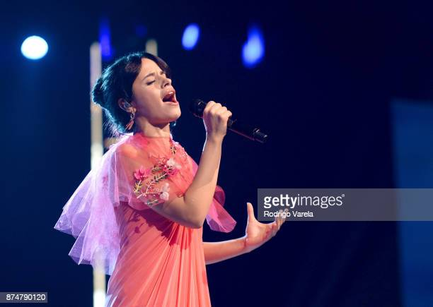Camila Cabello performs onstage during the 2017 Person of the Year Gala honoring Alejandro Sanz at the Mandalay Bay Convention Center on November 15...