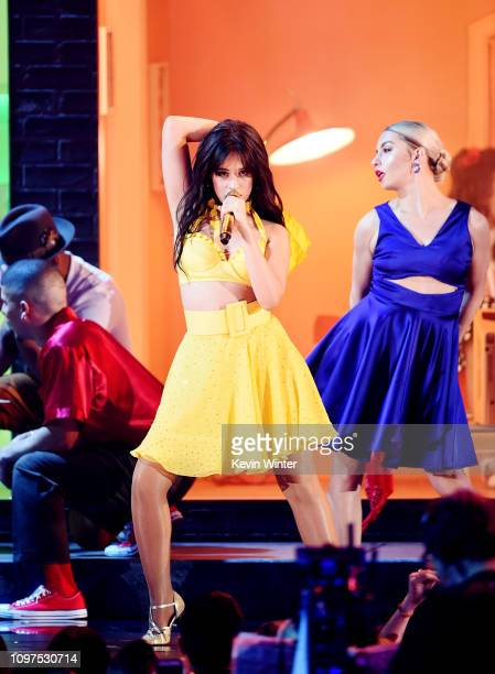 Camila Cabello performs onstage during the 61st Annual GRAMMY Awards at Staples Center on February 10 2019 in Los Angeles California