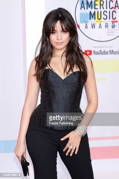 Camila Cabello photographed on the red carpet of the 2018 American Music Awards at the Microsoft Theater on October 9 2018 in Los Angeles USA
