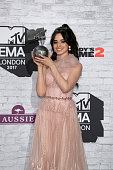 london england camilla cabello poses with