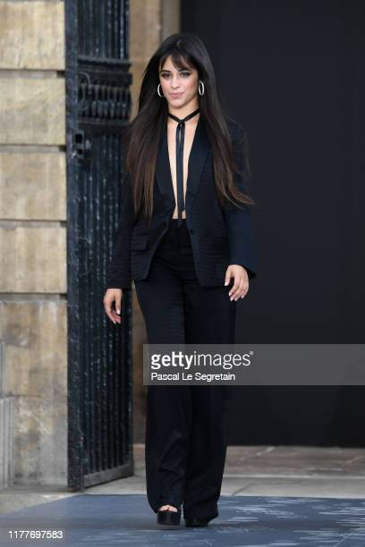 Camila Cabello walks the runway during the Le Defile L'Oreal Paris Show as part of Paris Fashion Week on September 28 2019 in Paris France