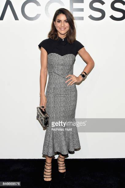 Camila Coelho attends Michael Kors and Google Celebrate new MICHAEL KORS ACCESS Smartwatches at ArtBeam on September 13 2017 in New York City
